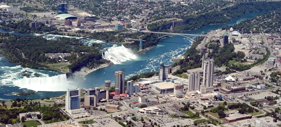 Niagara Falls City today