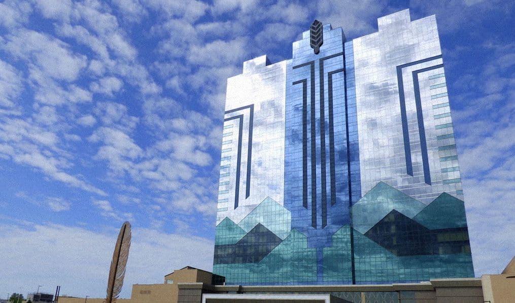 The building of the Seneca Niagara Resort & Casino